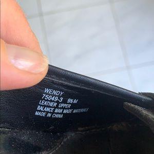 Connie Shoes - Black leather pumps, 9.5